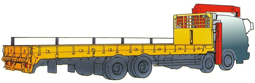 建機運搬車