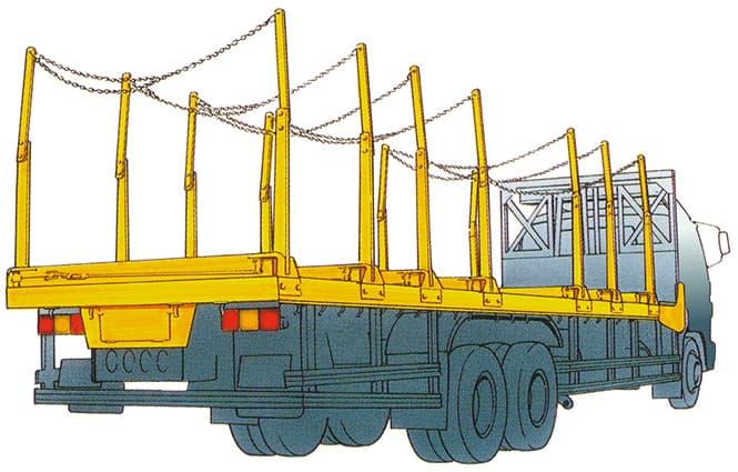 材木運搬車